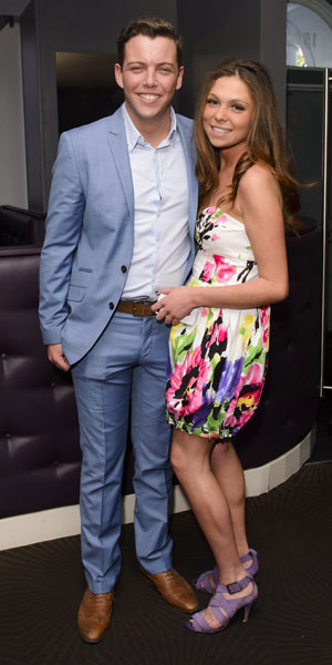 James 'Diags' Bennewith and Fran Parman, 'The Only Way Is Essex' TV show production stills, Britain - 16 Mar 2014