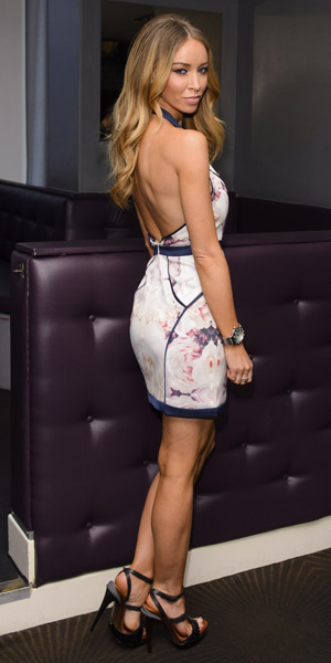 Lauren Pope in TOWIE photo call on 17 March 2014