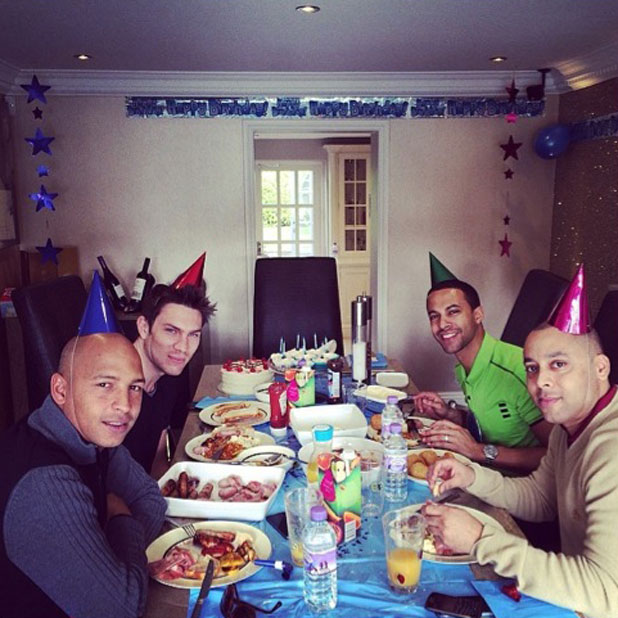Rochelle Humes' Birthday Breakfast Treat For Husband