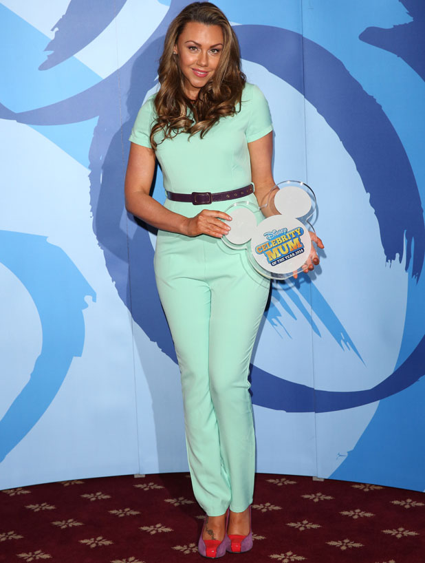 Michelle Heaton, Disney Celebrity Mum of the Year 2014 - photocall in London, 19 March 2014