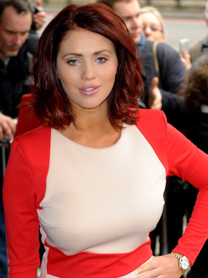 Amy Childs at The Tric Awards 2014 held at the Grosvenor House Hotel - Arrivals - 11 March 2014