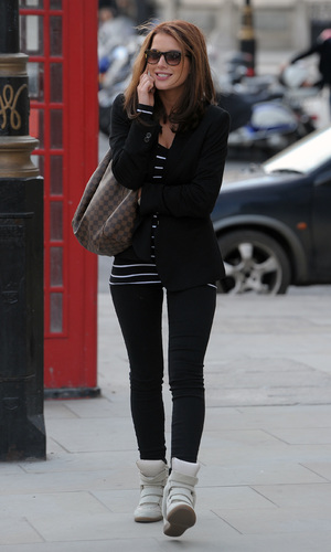 Helen Flanagan out in London
