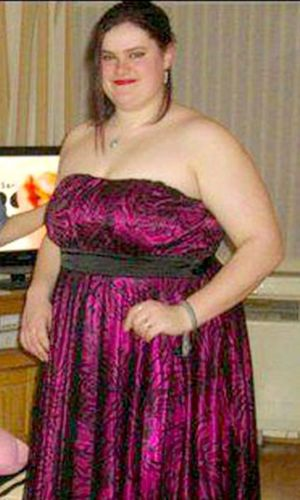 Kirsty Thomson before weight loss