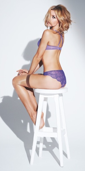 Abbey Clancy models the new spring/summer '14 range for Ultimo - 25 March 2014