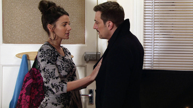 Corrie, is Tina pregnant?, Mon 31 Mar