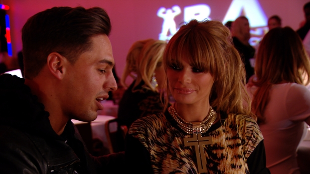 Chloe Sims and Mario Falcone meet up to discuss their romance - 26 March 2014