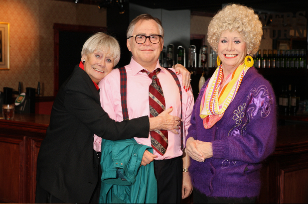 Jack and Vera Duckworth immortalised in wax for Madame Tussauds in Blackpool - 27 March 2014
