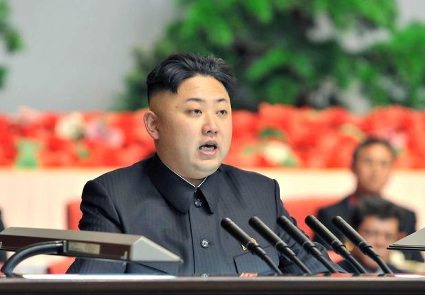 Kim Jong-un in  Pyongyang