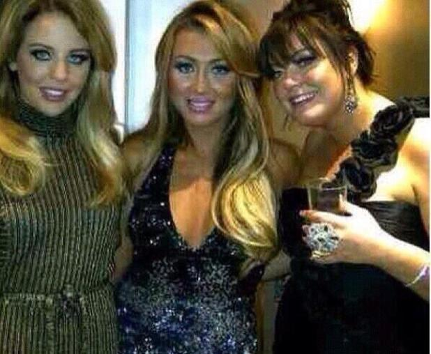 TOWIE's Gemma Collins has brown hair in throwback picture - 26 March 2014