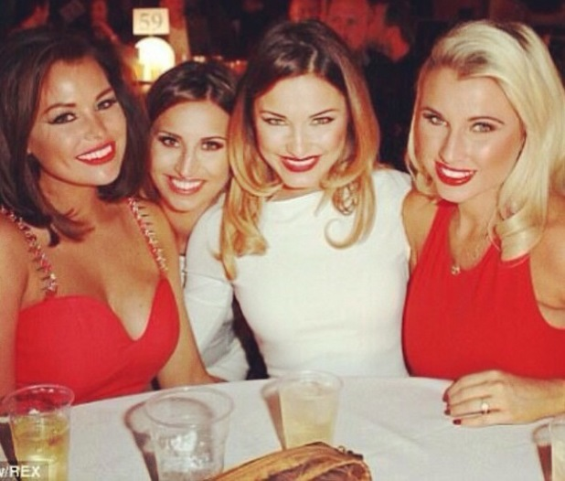 Jessica Wright shares new pictures of Elliott Wright's boxing match - 25 March 2014