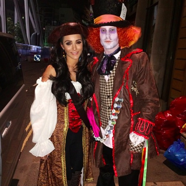 Frankie Sandford shares pictures from Rochelle Wiseman's Disney-themed birthday party, 29 March 2014