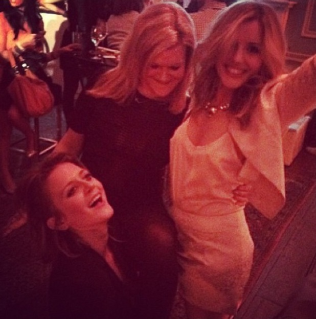 Caggie Dunlop at Magnum's 25th birthday party - 26 March 2014