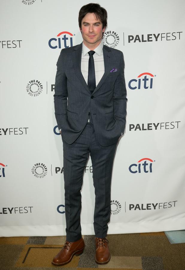 Ian Somerhalder attends The Vampire Diaries screening at PaleyFest 2014 in Los Angeles - 22 March 2014