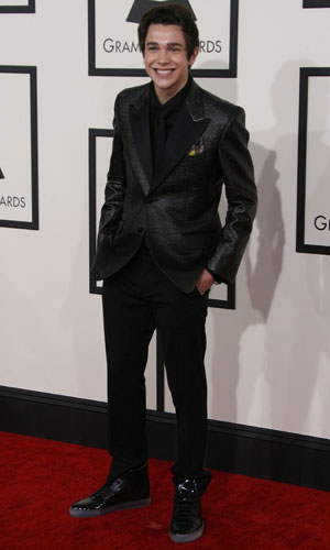 Austin Mahone, The 56th Annual GRAMMY Awards (2014) held at the Staples Center in Los Angeles, CA. 26-1-2014