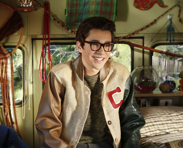 Austin Mahone makes a guest appearance in Will Arnett's sitcom The Millers, March 2014