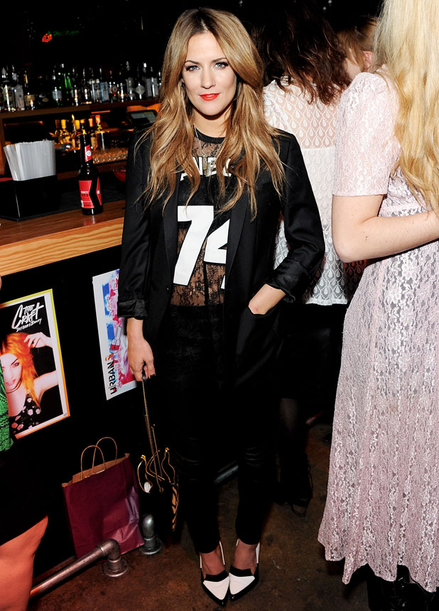 Caroline Flack at Lou Teasdale's The Craft Book Launch in Shoreditch, London, 25 March 2014