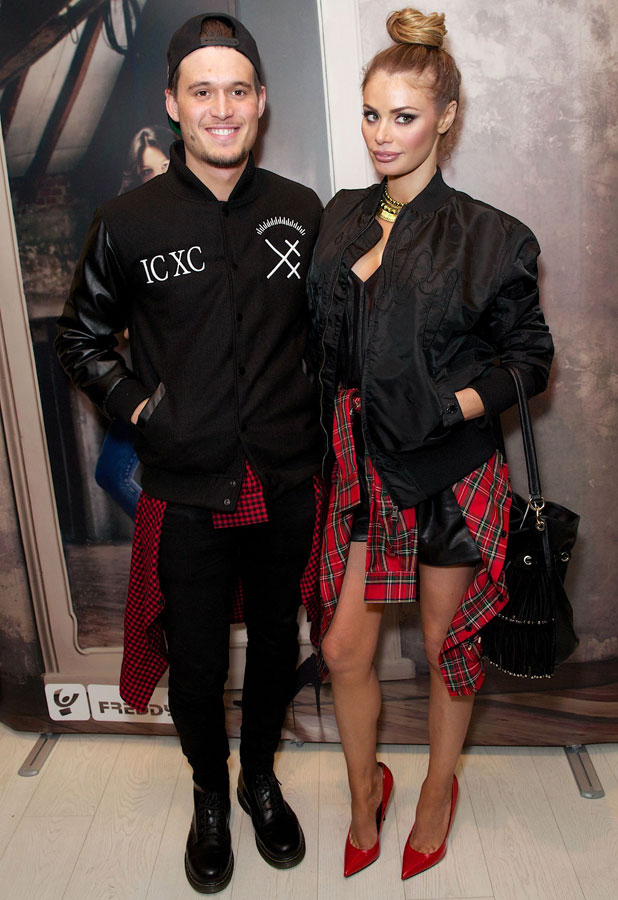 Chloe Sims and Charlie Sims, Freddy store opening, London, Britain - 27 Mar 2014