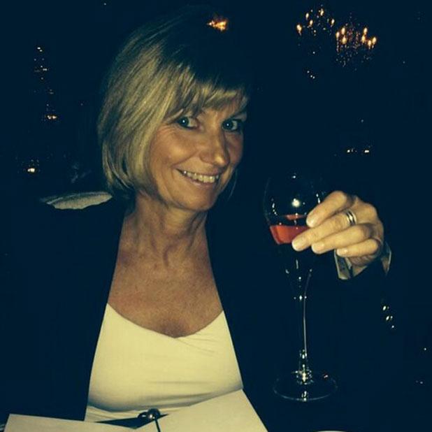 Ferne McCann's mum at the Vinspired Awards, London, Britain - 27 Mar 2014