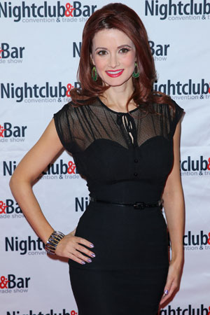 Holly Madison, Nightclub and Bar Convention and Trade Show 2014 at Las Vegas Convention Center, 25 March 2014