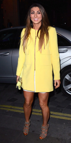 Luisa Zissman at showing of Jersey Boys on 27 March 2014