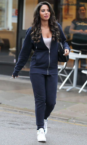 Tulisa Contostavlos out and about, London, Britain - 26 Mar 2014