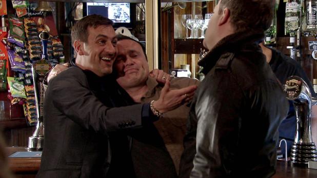 Corrie, Peter gets drunk, Wed 2 Apr