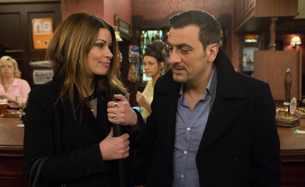 Corrie, will Tina reveal her affair?, Mon 7 Apr