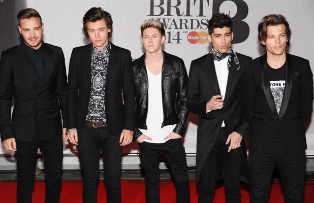 The Brit Awards (Brit's) 2014 held at the O2 - Arrivals 02/19/2014 London, United Kingdom