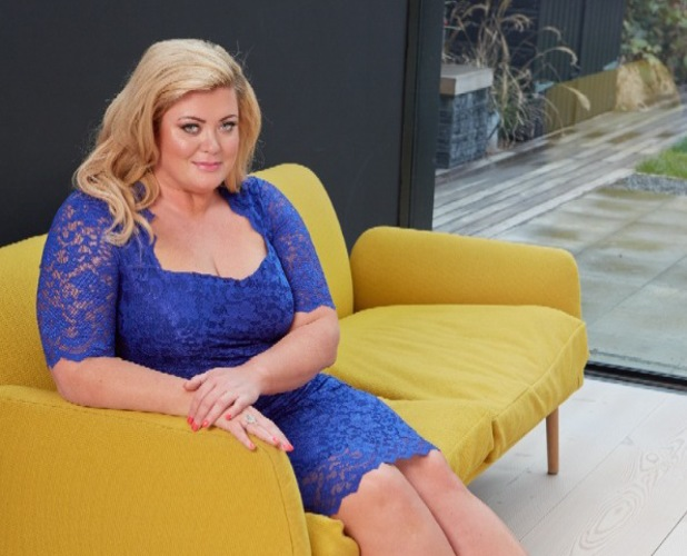 Gemma Collins photo shoot for Reveal, London, March 2014