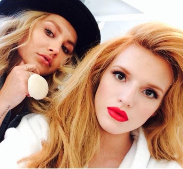 Bella Thorne album shoot, 30 March 2014