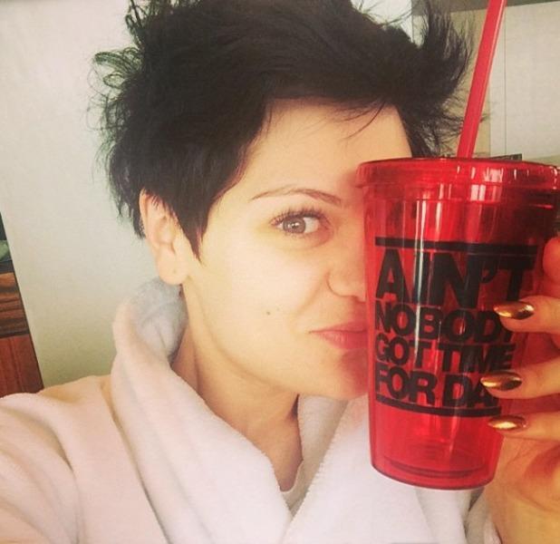 Jessie J 26th birthday mug, 27 March 2014
