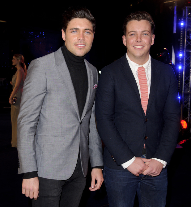 Tom Pearce and James Bennewith aka Diags - 'Robocop' World Film Premiere, London, Britain - 05 Feb 2014