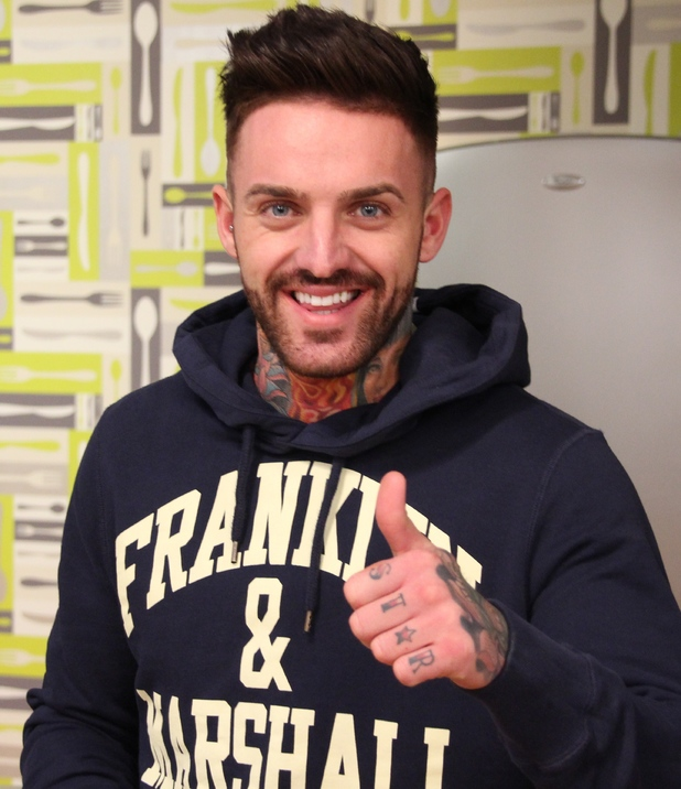 Geordie Shore new cast member Aaron Chalmers - 4 April 2014