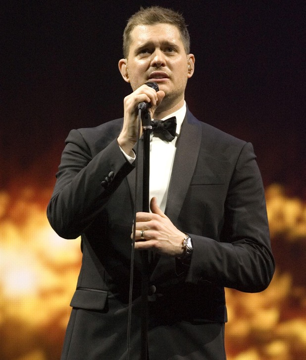 Michael Buble performs live at The SECC - 8 March 2014