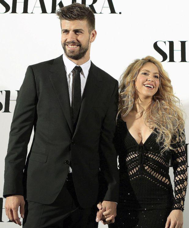 Shakira and Gerard Pique at 'Shakira' album launch, Barcelona, Spain - 20 Mar 2014