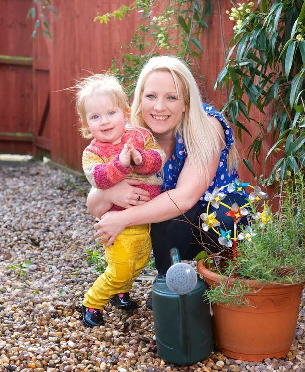 Nikki Witham was diagnosed with cancer after doctors spotted it during labour