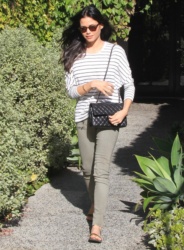 Jenna Dewan-Tatum leaves a salon in Los Angeles, America - 3 April 2014