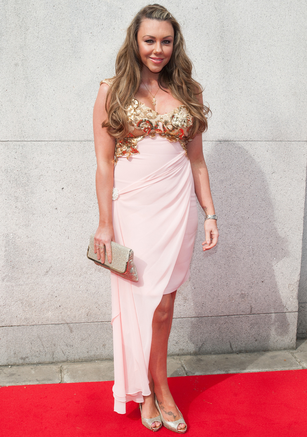 Michelle Heaton at TESCO Mum of the Year Awards held at the Savoy - Arrivals - 23 March 2014