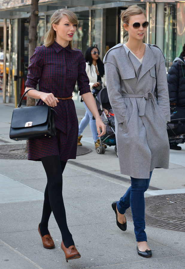 Taylor Swift and Karlie Kloss out in New York, America - 3 April 2014
