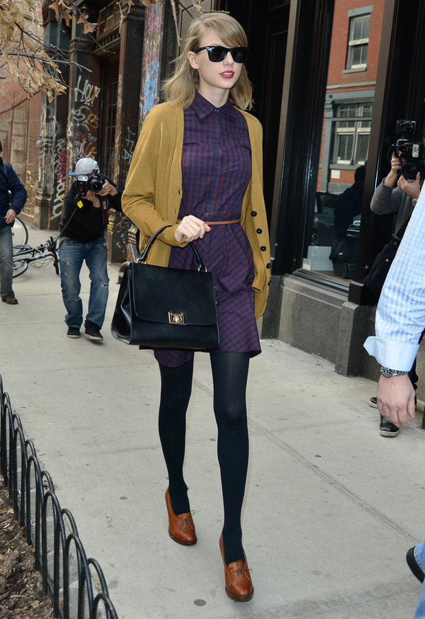Taylor Swift out in New York, America - 3 April 2014