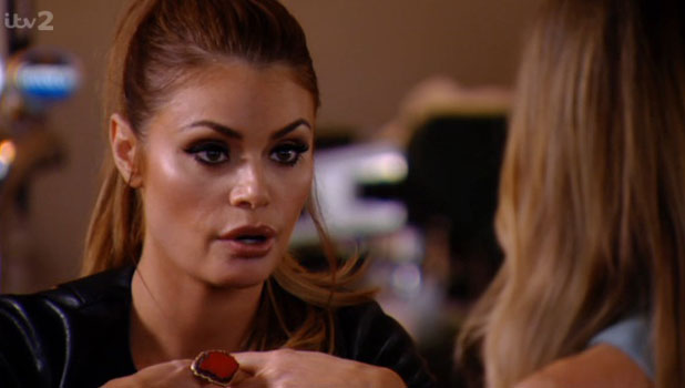 Chloe Sims in TOWIE, episode aired 30 March 2014