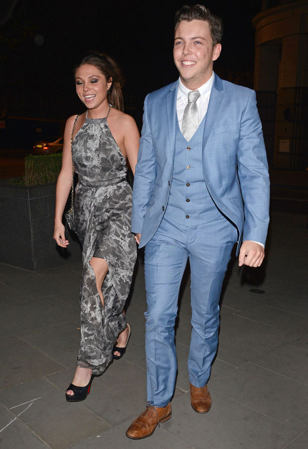 James Bennewith and Fran Parman, TOWIE wrap party at Kanaloa Nightclub, London, Britain - 02 Apr 2014