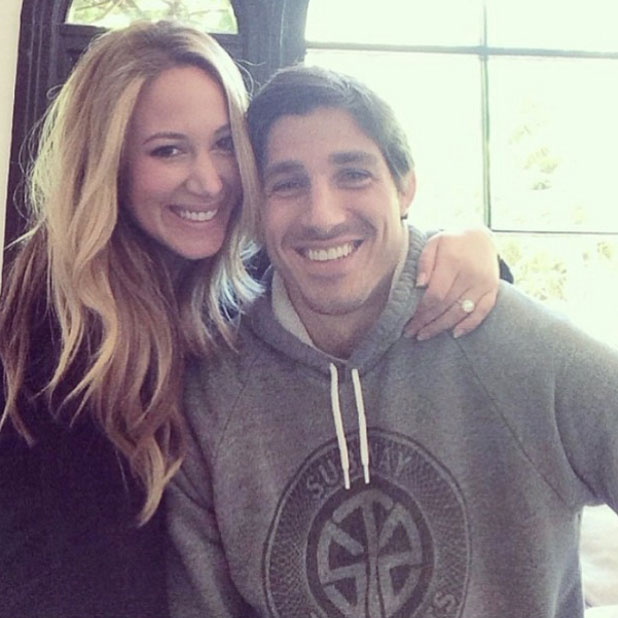 Haylie Duff announces engagement to Matt Rosenberg, 3 April 2014