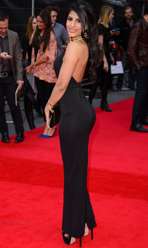 Jasmin Walia, 'The Quiet Ones' World Premiere at Odeon West End, 1 April 2014