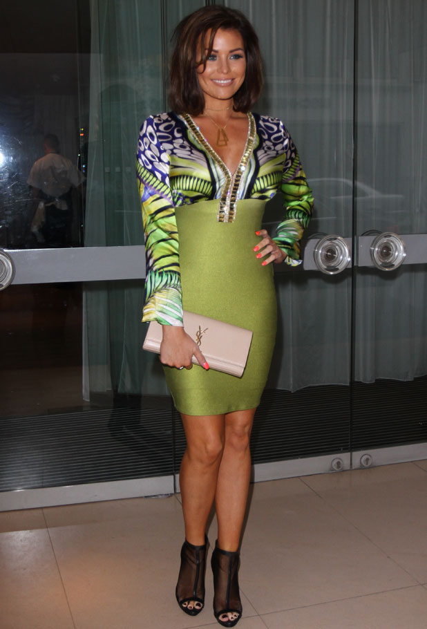 Jessica Wright, Boux Avenue press launch party at The Sanderson Hotel, London, 3 April 2014