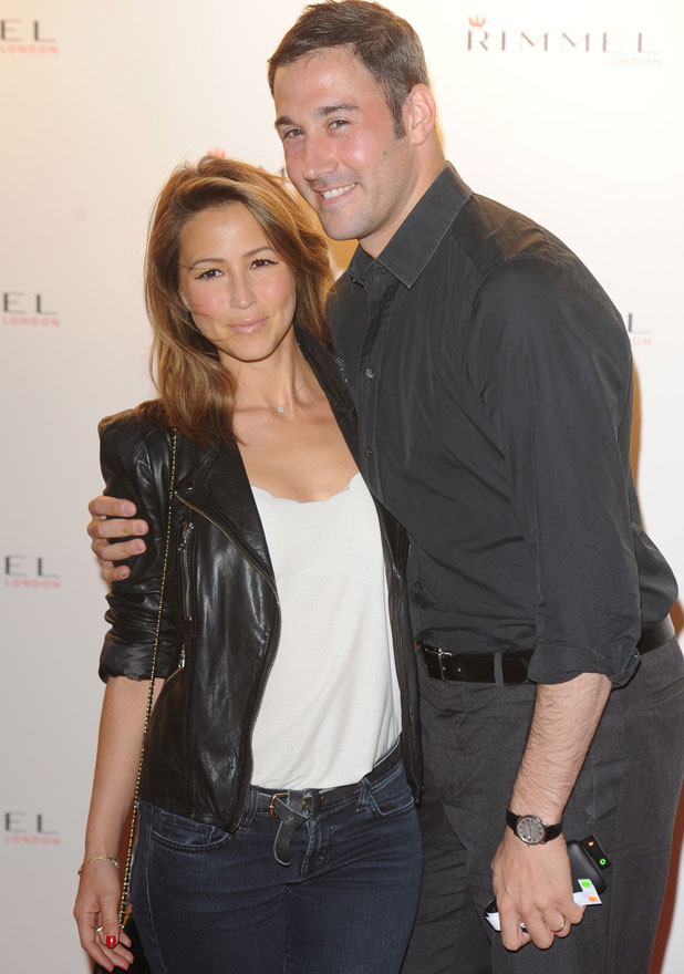 Rachel Stevens and Alex Bourne, Rimmel London party held at Battersea Power Station London, England - 15.09.11