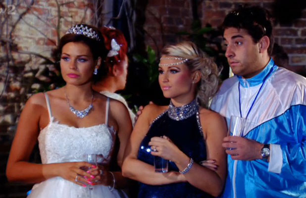 Sam Faiers' exit scene on eleventh season finale of TOWIE, aired 2 April 2014