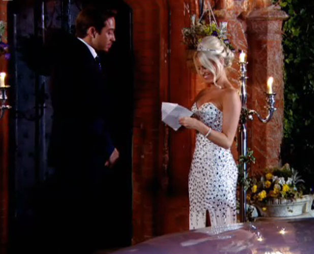 TOWIE eleventh series finale, Lockie and Danielle talk, aired 2 April 2014