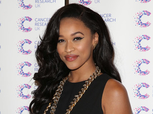 Tamera Foster attends the Jog On To Cancer charity event in London, England - 9 April 2014