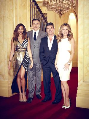 Britain's Got Talent, Judges line up, 2014, Sat 12 Apr